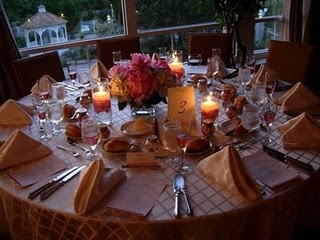 Our guest tables