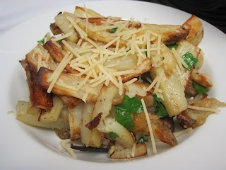 Garlic Parmesan Truffle Fries | recipes I want to try - sides | Pinte ...