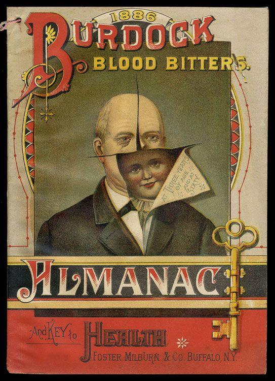 Blood Bitters design