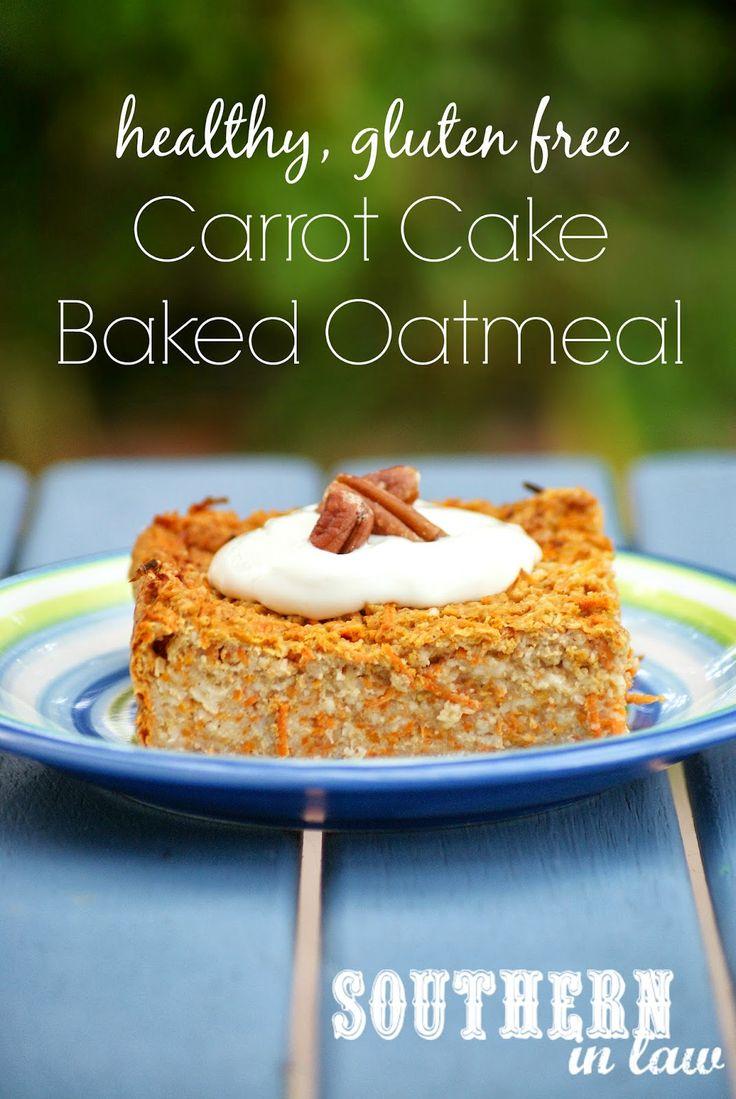 ... Cake Oatmeal Recipe - Healthy, gluten free, low fat, sugar free