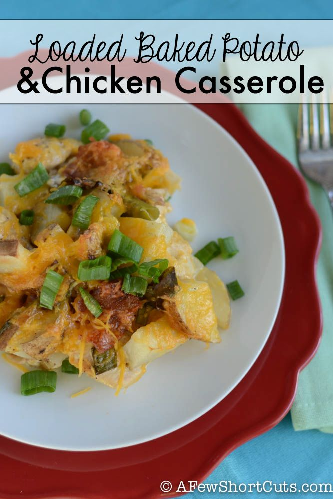 easy dinner for those busy weeknights? Check out this Loaded Baked ...