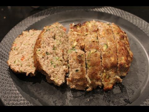 Turkey & Zucchini Meat Loaf recipe | Low-Carb Apps & Mains | Pinterest