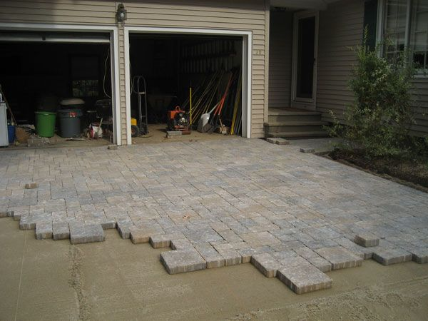 Diy stone driveway home and organization pinterest for Diy stone projects