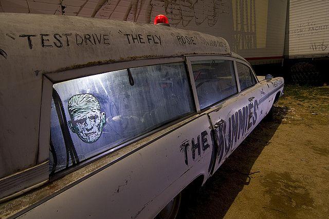 The MUMMIES vintage ambulance