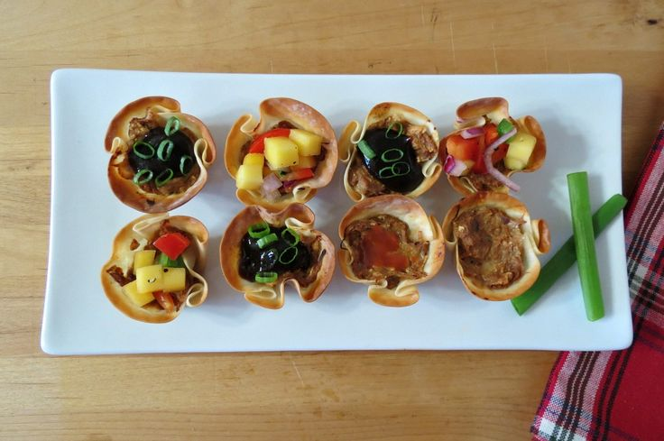 BBQ Pork Wontons - These are so simple to make and are a great use for ...