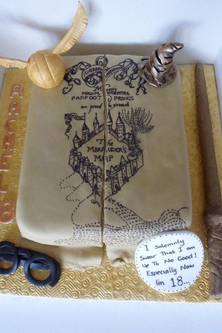 ... Cake. My child is definitely having a Harry Potter birthday at some