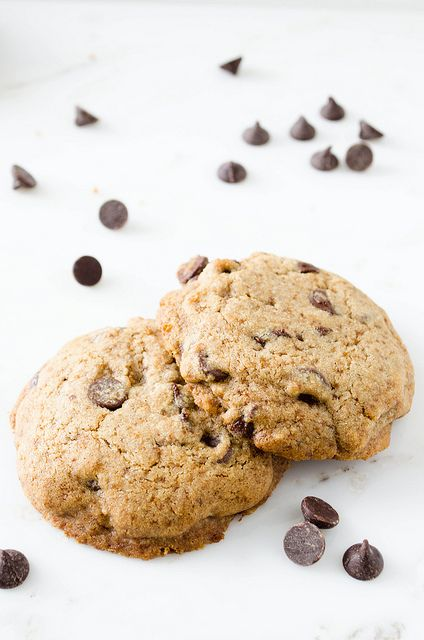 Buckwheat Chocolate Chip Cookies (Gluten Free)   cooking ala mel by ...