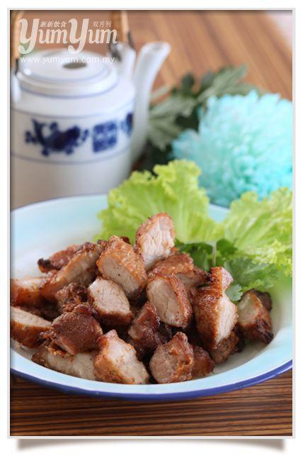Five Spice Crispy Pork Belly | YUM | Pinterest