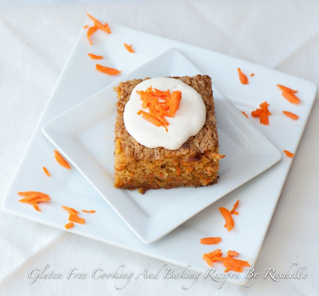 This gluten free carrot cake is moist and flavorful, so often times I ...
