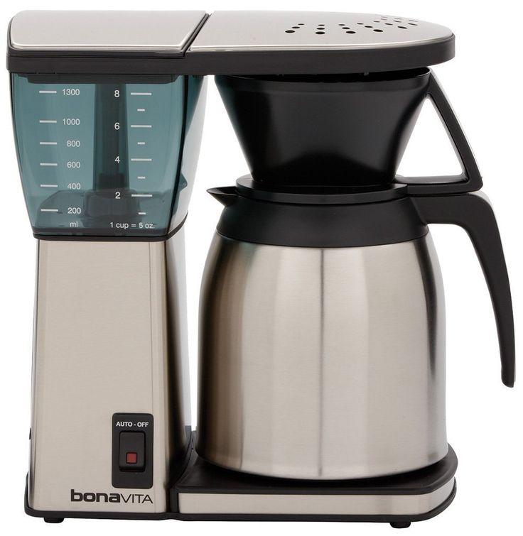 bonavita bv1800 8 cup coffee maker top rated coffee