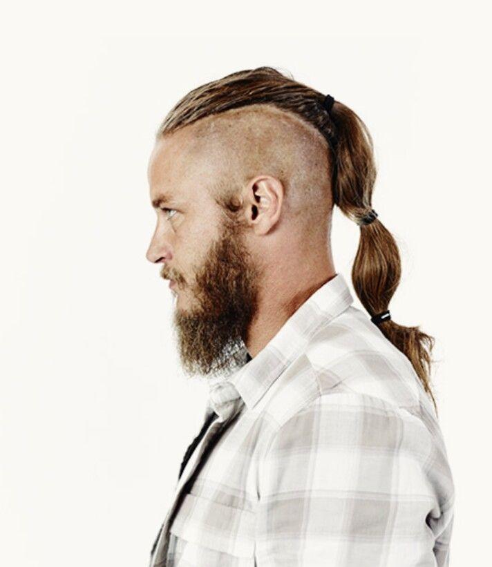 Мужская стрижка викинг