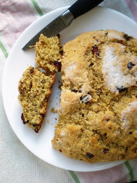 Soda Bread With Dried Cranberries Recipes — Dishmaps