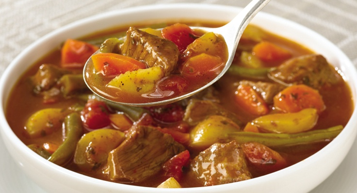 Slow Cookers Vegetable Beef Soup | McCormick