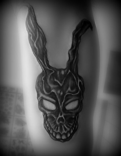 Frank, Donnie Darko tattoo. Yes guys yes | Tattoos | Pinterest