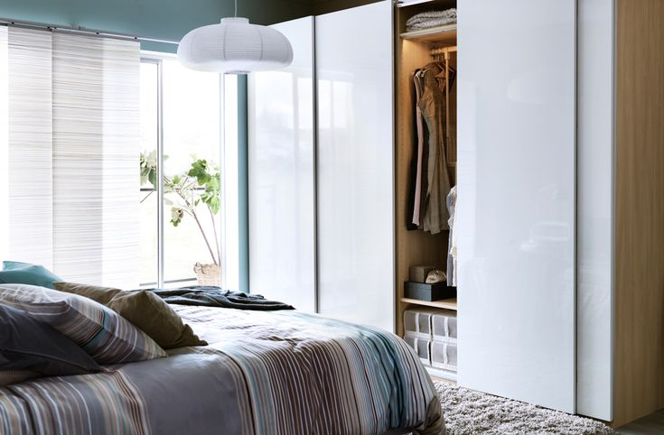 Ikea pax schiebetüren holz  Schlafzimmer Ikea Pax ~ Die beste Inspiration für Ihren Möbel ...