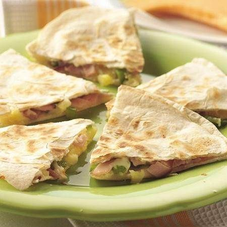 Cumin-Lime Pork And Pineapple Quesasdillas Recipes — Dishmaps