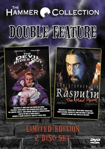 The Devil Rides Out/Rasputin the Mad Monk DVD ~ Christopher Lee, http ...