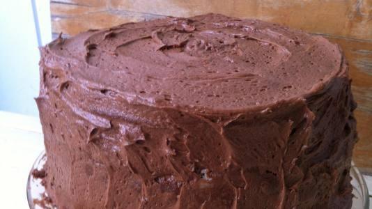 Three Layer Malted Milk Chocolate Cake | Recipe