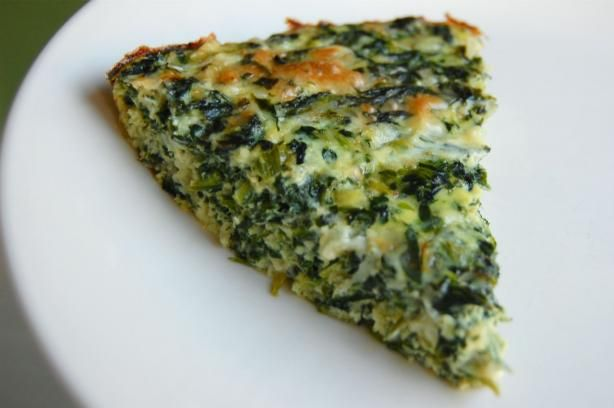 Crustless Spinach Quiche. Photo by run for your life. This was ...