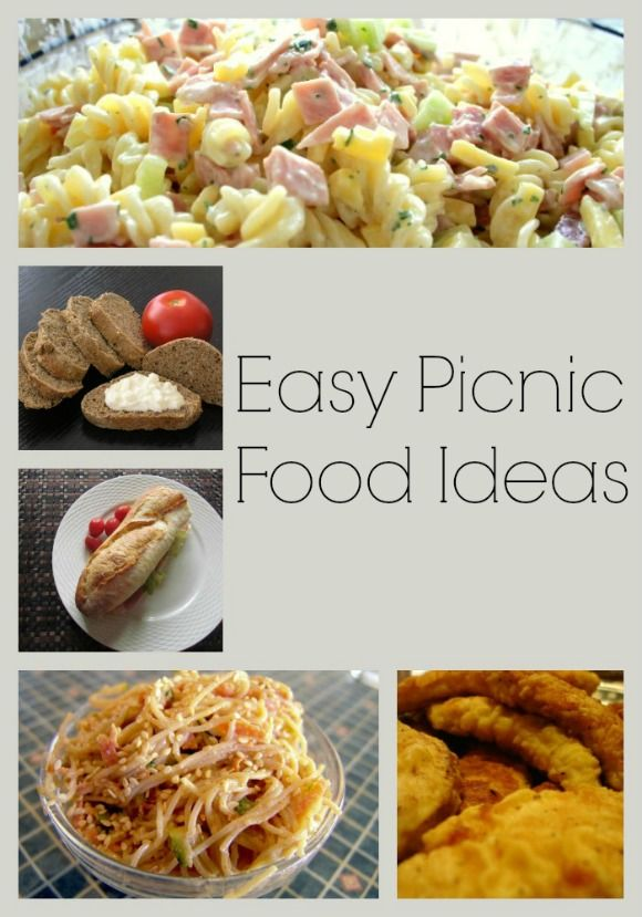 Easy picnic food ideas to enjoy in the great outdoors for Meal outdoors
