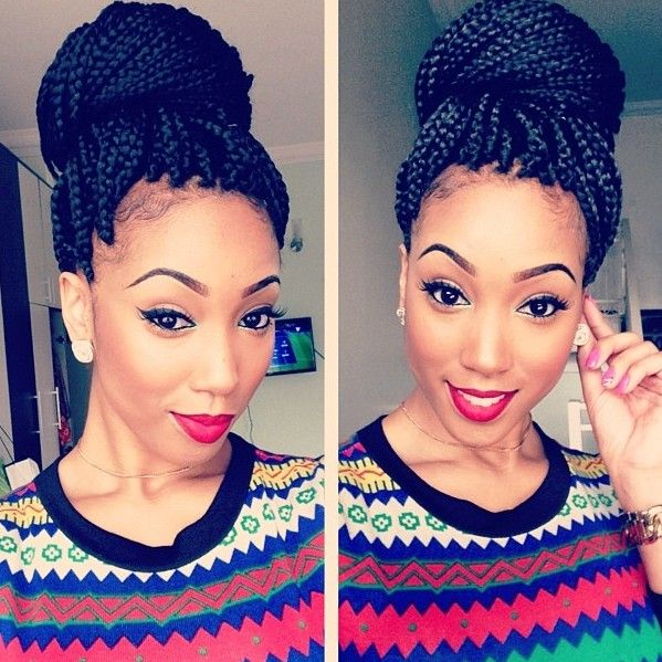 Crochet Braids For No Edges : thin hair edges with braids slayed box braids with edges