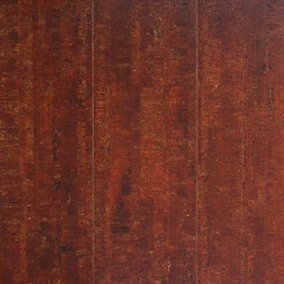 Cork Flooring: Millstead Flooring Spiceberry Plank 13/32 in. Thick x ...