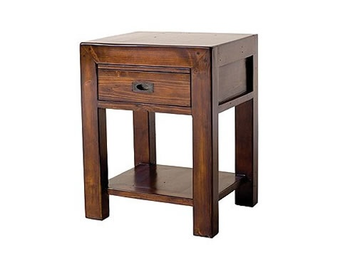 Post Rail Small End Table