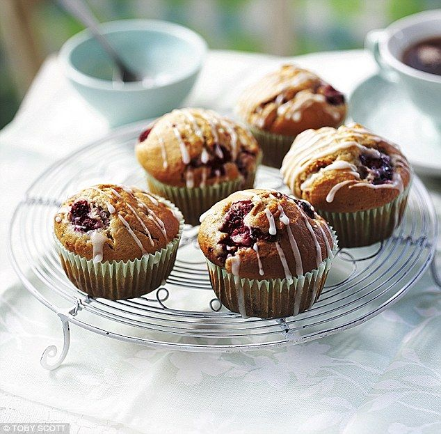 Penny's guilt-free treats: Raspberry muffins with orange drizzle