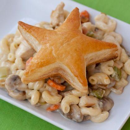Mac and Cheese Chicken Pot Pie | Yummy!! | Pinterest