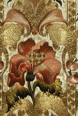 Chasuble, 18th century Italian (Sicily, probably) Silk, metallic thread; Metropolitan Museum of Art