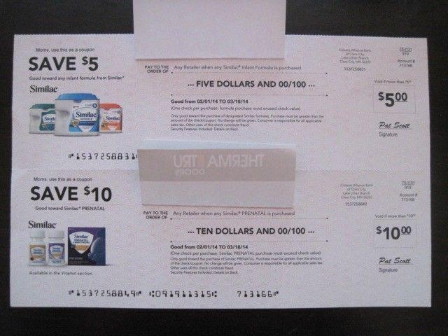 Similac coupon code costco