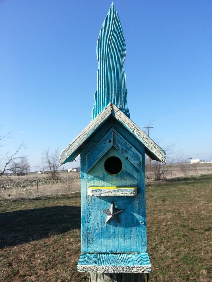 Pin by wyonda kruemmer laurence on birdhouses pinterest - Old barn wood bird houses ...