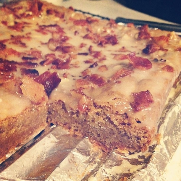Maple bacon blondies | My Cookie Portfolio | Pinterest