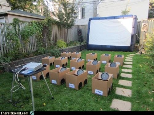 TIFI WIN: The Kids' Backyard Drive-In Movie-  Pfft...kids?!  TEENS!!!!!!!!! xD