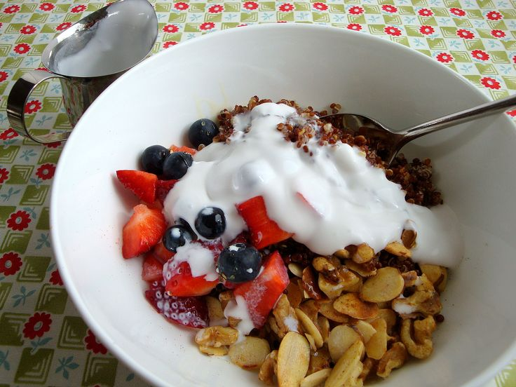 Warm and Nutty Quinoa Breakfast | Quinoa | Pinterest