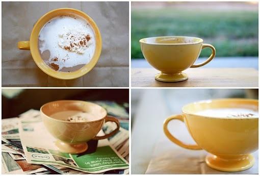 spicy chai latte. my fav.