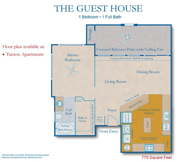 Guest House Floor Plan Future Home Pinterest