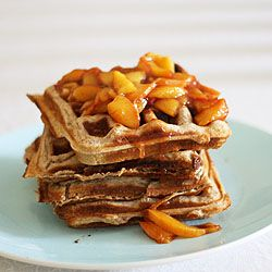 peach waffles | sunny side up | Pinterest