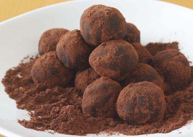 Bittersweet Chocolate Truffles - Bon Appétit