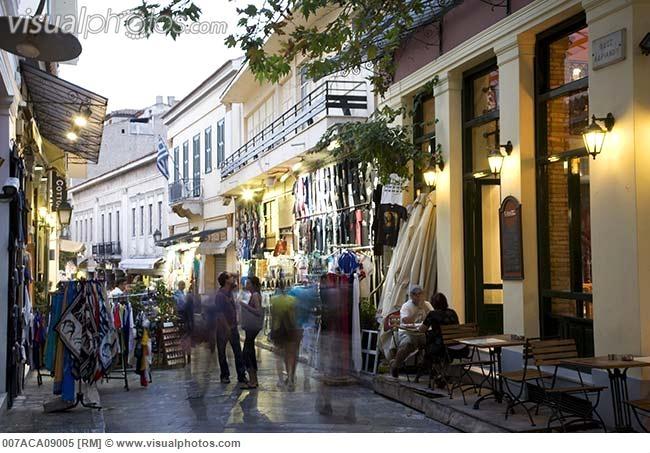 Plaka District Athens greece  Scenes Ive seen...  Pinterest