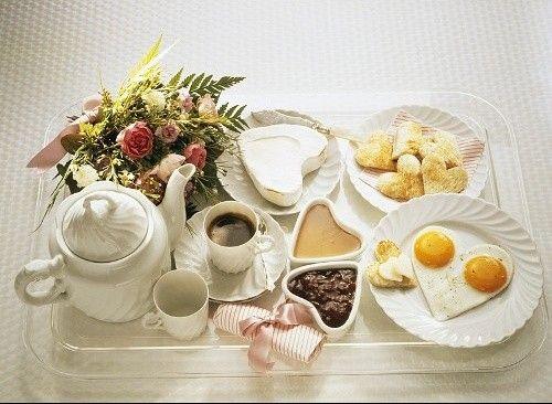 Good morning | Breakfast in Bed | Pinterest