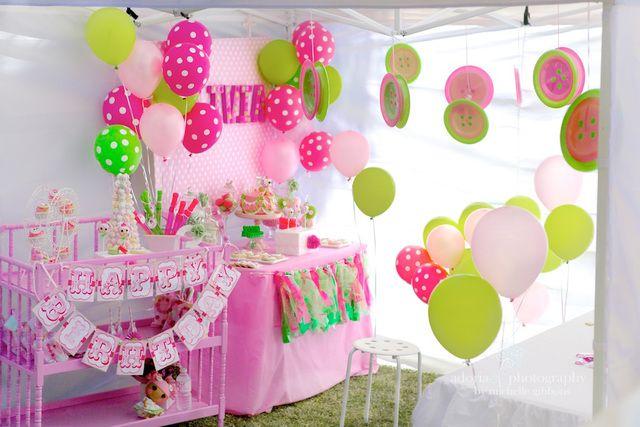 Decoración de fiesta Lalaloopsy