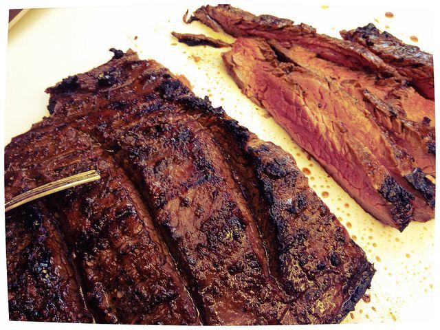 Grilled Marinated Flank Steak #paleo | PALEO | Pinterest