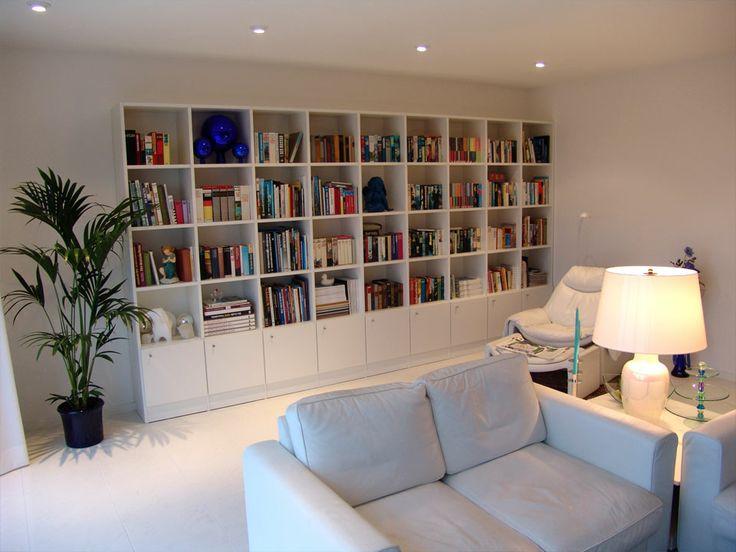 Bücherregal als Wohnwand  innconcept  Regale & Wohnzimmer  Pintere…