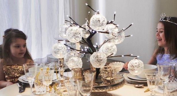 Centre de table arbre lumineux no l pinterest - Arbre lumineux exterieur noel ...