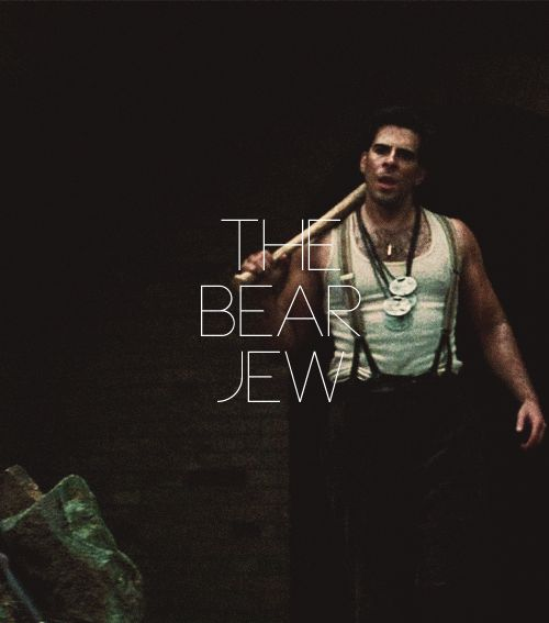 eli roth as the bear jew i write sins not tragedies