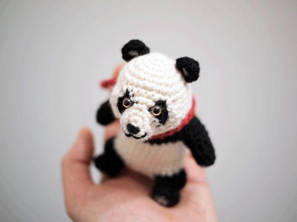 Oso panda amigurumi - Imagui