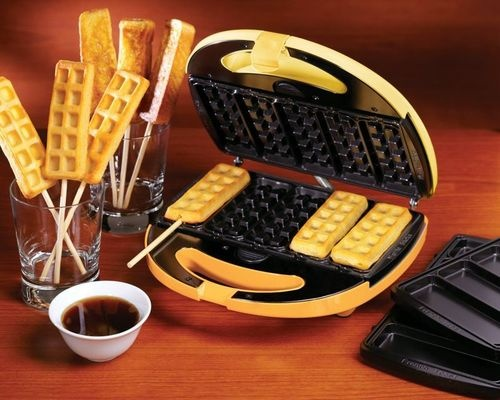 Electric 2-In-1 Waffle & French Toast On A Stick, Mini Compact ...