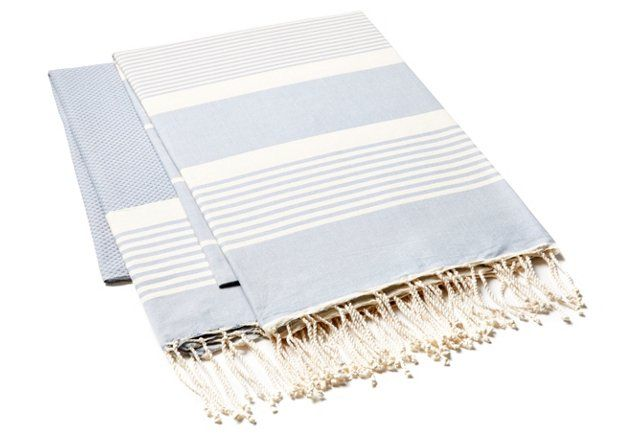 Fouta Stripe Towel,