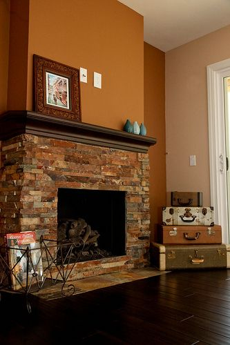 Fireplace Remodel Fireplace Mantle Redo Ideas Pinterest